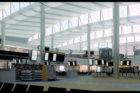 The interior work on Heathrow's Terminal 2a is due for completion by 2013
